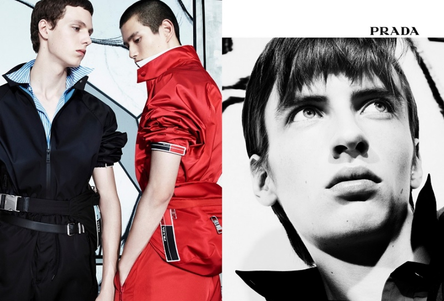 1 Prada Menswear SS18 Advertising Campaign Real Life Comix 02 bx-side